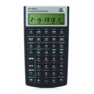 HP NW239AA  10bII+ Financial Calculator