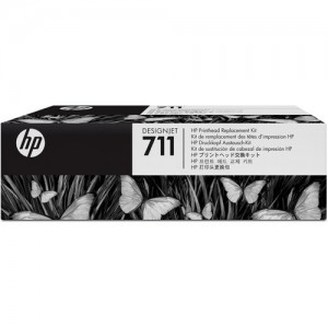 HP C1Q10A 711 - Black, Yellow, Cyan, Magenta - Printhead