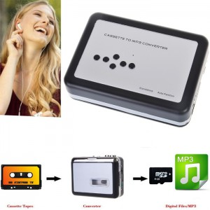 SD Card Cassette (Tape) to MP3 Converter - Direct to Micro SD, NO PC NEEDED (EZCAP 232)