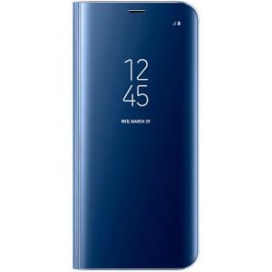 Samsung Galaxy EF-ZG950CLEGWW- Telkom S8 Clear View Standing Cover - Blue