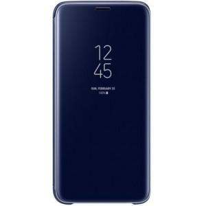 Samsung EF-ZG960CLEGWW- Telkom Galaxy S9 Clear View Standing Cover - Blue