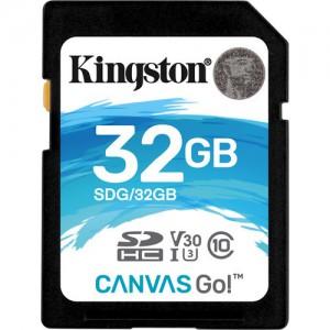 Kingston SDG/32GB 32GB Canvas Go! UHS-I SDHC Memory Card