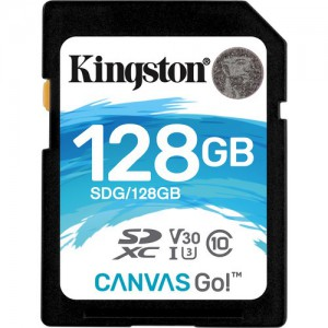 Kingston SDG/128GB 128GB Canvas Go! UHS-I SDXC Memory Card