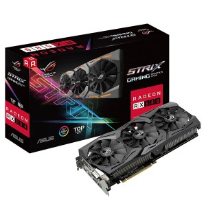 Asus STRIX-RX580-T8G Radeon 8GB GDDR5 256-bit PCI-E 3.0 Desktop Graphics Card
