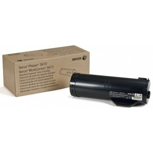 Xerox 106R02723  Black High Capcity Toner Cartridge For Xerox Phaser 3610 series and WorkCentre 3615