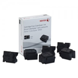 Xerox 108R01025 6 Black Solid Ink Sticks