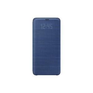 Samsung EF-NG960PLEGWW- Telkom Galaxy S9 LED View Wallet Cover (Blue)
