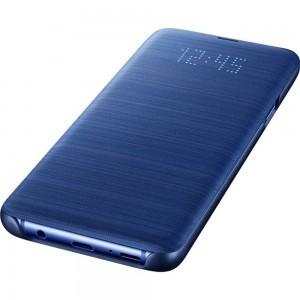 Samsung EF-NG965PLEGWW- Telkom Galaxy S9+ LED View Wallet Cover (Blue)