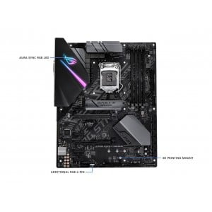 Asus ROG Strix H370-F Gaming  LGA1151 (300 Series) DDR4 DP HDMI DVI M.2 ATX Motherboard