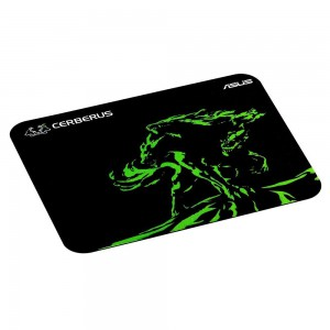 Asus CERBER/MINI/GRN Cerberus Mat Mini Cloth and Rubber Green Gaming Mouse Pad