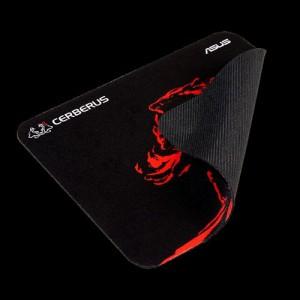 Asus CERBERUS PLUS  Black & Red, 450 x 400 x 3mm  Gaming Mouse Pad