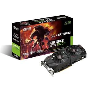 Asus CERBERUS-GTX1070TI-A8G Cerberus GeForce GTX 1070 Ti Advanced Edition Graphics Card