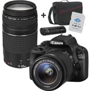 Canon EOS 700D Ultimate Bundle - 2 x Lens, SD Card, Remote, Bag, Software, Disc Voucher