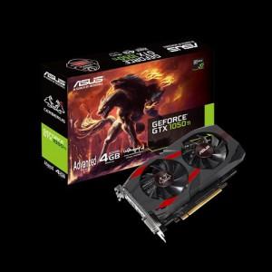 Asus CERB-1050TI-A4G Cerberus GeForce® GTX 1050 Ti Advanced Edition 4GB GDDR5 Graphics Card