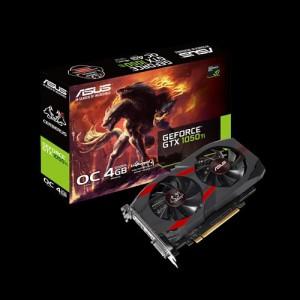 Asus CERB-1050TI-O4G Cerberus GeForce® GTX 1050 Ti OC Edition 4GB GDDR5 Graphics Card