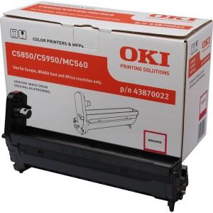 OKI 43870022 Genuine Magenta Laser Printer Imaging Unit