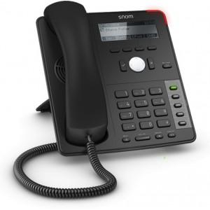 Snom SN.SNOMD715 4 Line Desktop Phone with Dual Gigabit Ethernet