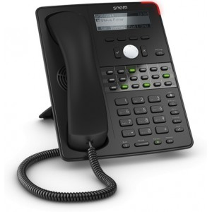 Snom SN.SNOMD725 12 Line Desktop Phone with Gigabit Ethernet