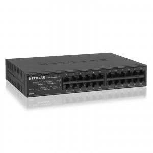 Netgear N.GS324-100EUS 24 Port 10/100/1000 Gigabit Ethernet Switch. Metal Case.