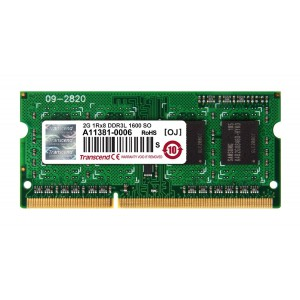 Transcend 2GB DDR3-160