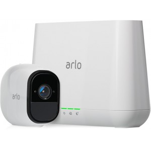 Arlo Pro System - Base Station with 1 Rechargeable Wire-Free HD Security Camera with Audio and Siren
