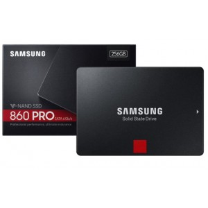 "SAMSUNG MZ-76P256BW 860 PRO 256GB SATA 6GB/s 2.5"" Solid State Drive"