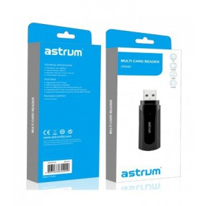 Astrum A84504-B Black USB 2.0 Multiport Card Reader