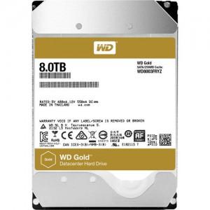 """Western Digital WD8003FRYZ 8TB Gold 7200 rpm SATA III 3.5"""" Internal Datacenter HDD"""
