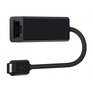 Gizzu GAUCE100 USB-C to 10/100 LAN Adapter Black