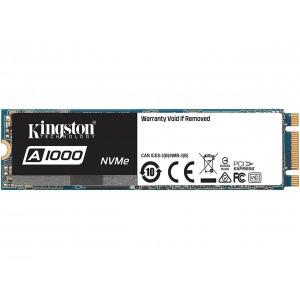 Kingston SA1000M8/480G A1000 M.2 2280 480GB PCI-Express 3.0 x2 3D TLC Internal Solid State Drive (SSD)
