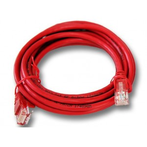 Linkbasic  FLY-6-2R  2 Meter UTP Cat6 Patch Cable Red
