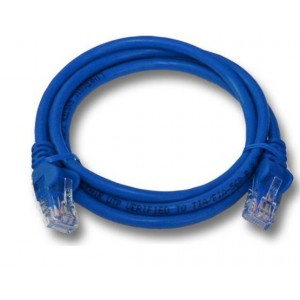 Linkbasic  FLY-6-1B   1 Meter UTP Cat6 Patch Cable Blue