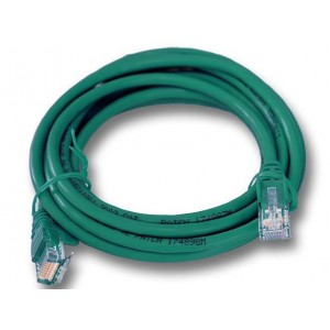 Linkbasic  FLY-6-3G  3 Meter UTP Cat6 Patch Cable Green