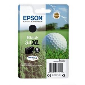 Epson T34714010  Black Original Ultra High Capacity Ink Cartridge(Golf ball)