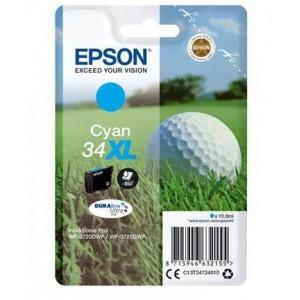 Epson T34724010  Cyan Original DURABrite Ultra High Capacity Ink Cartridge (Golf Ball)