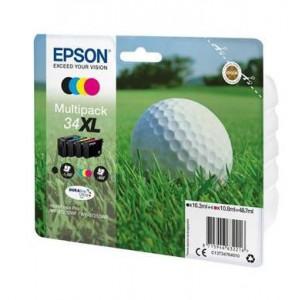 Epson T34764010  Original DURABrite Ultra High Capacity Multipack (Golf Ball)