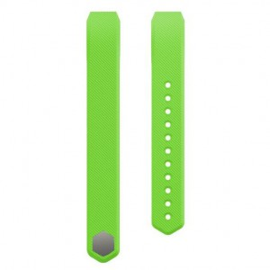 Fitbit Alta Silicon Band - Adjustable Replacement Strap - Light Green, Small