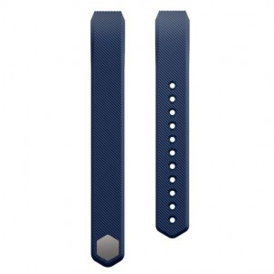 Fitbit Alta Silicon Band - Adjustable Replacement Strap - Navy Blue, Small