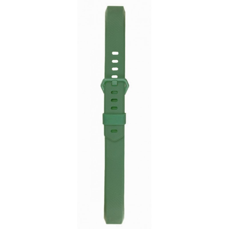 Fitbit Alta Silicon Band - Adjustable Replacement Strap - Olive Green, Large