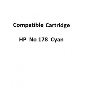 Real Color  32104318 Compatible HP  No 178  Cyan Original Ink Cartridge