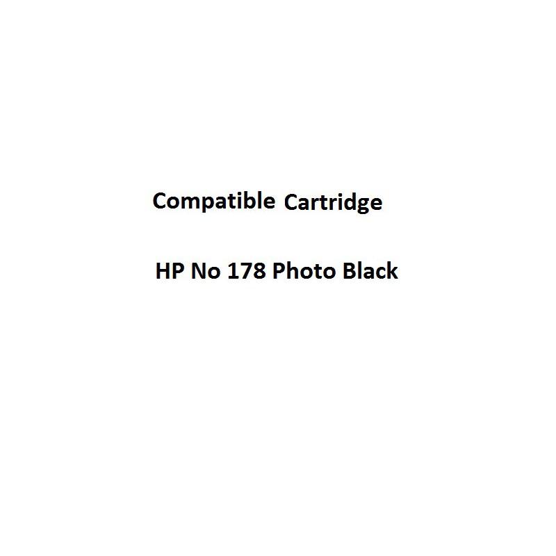 Real Color 32104316 Compatible HP No 178 Photo Black Ink Cartridge