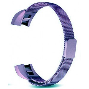 FITBIT ALTA Milanese Loop Watch Strap-Light Violet