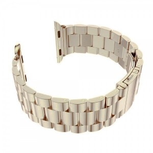 Apple Stainless Steel Watch Strap 38mm-White Gold
