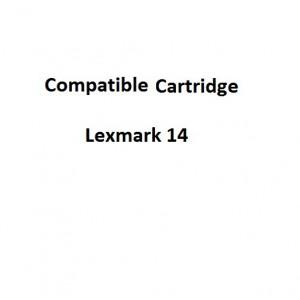 Real Color 32105006  Compatible Lexmark 14 Return Program Cartridge