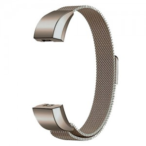 FITBIT ALTA Milanese Loop Watch Strap-White Gold