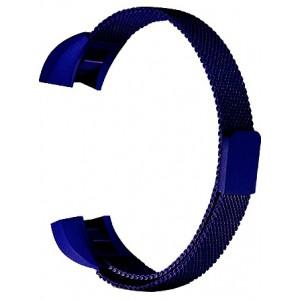 FITBIT ALTA Milanese Loop Watch Strap-Dark Blue
