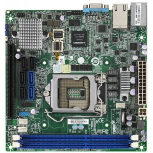 Tyan S5533GM2NR-LE Mini ITX Server Motherboard, LGA 1150 Intel C222, DDR3 1600/133