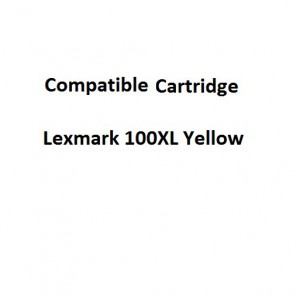Real Color 32105743 Compatible Lexmark 100XL Yellow Ink Cartridge