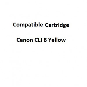 Real Color  32106955  Compatible Canon CLI 8 Yellow Ink Cartridge