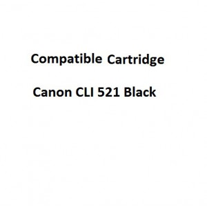 Real Color 32106967 Compatible Canon CLI 521 Black Ink Cartridge